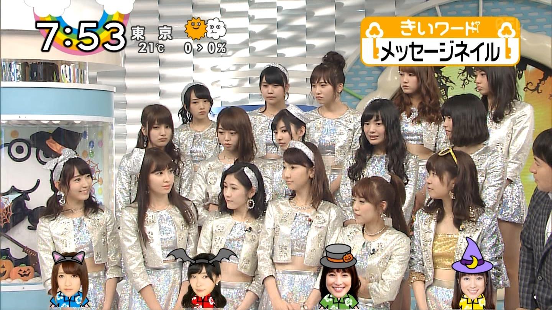 宮脇咲良ロングな ZIP生ライブ AKB48ハロウィンナイト (22)