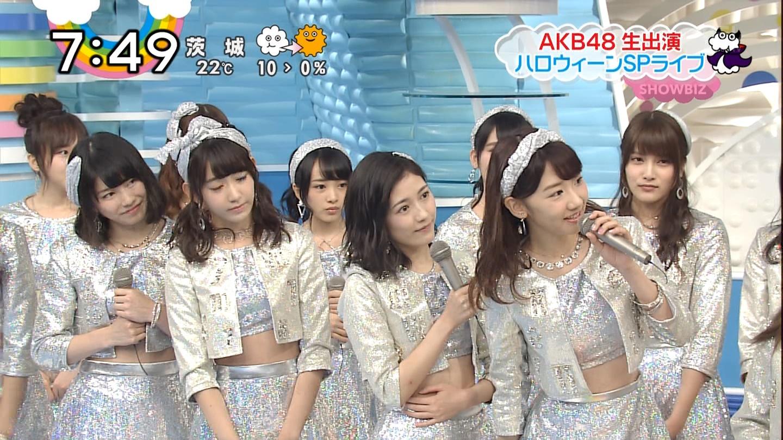 宮脇咲良ロングな ZIP生ライブ AKB48ハロウィンナイト  (18)