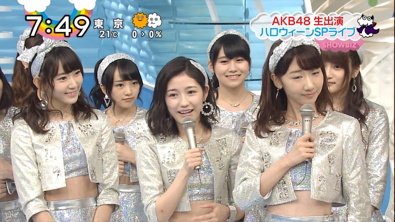 宮脇咲良ロングな ZIP生ライブ AKB48ハロウィンナイト  (20)