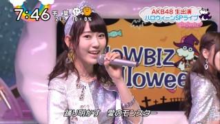 宮脇咲良ロングな ZIP生ライブ AKB48ハロウィンナイト  (7)