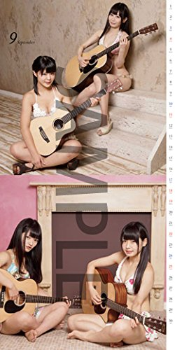 [水着]楽器と女の子 featuring 仮面女子 カレンダー2016年版 (9)