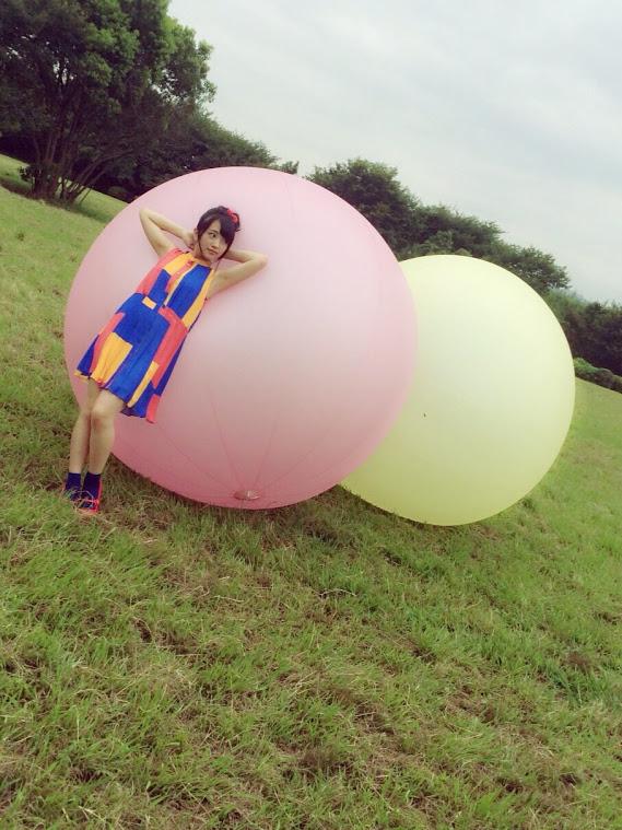AKB48向井地美音 水着オフショット UTB2015年11月号 (2)
