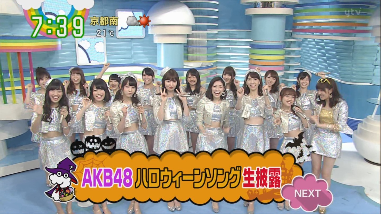 宮脇咲良ロングな ZIP生ライブ AKB48ハロウィンナイト