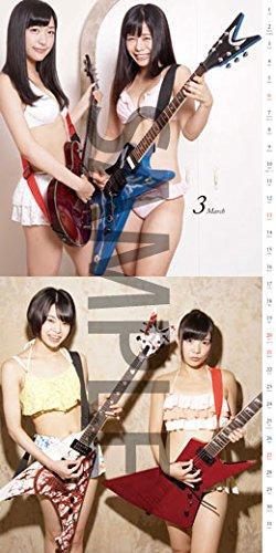 [水着]楽器と女の子 featuring 仮面女子 カレンダー2016年版 (3)