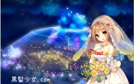 虹オンシジューム(フォスの花嫁)のクリスマスボイス集 フラワーナイトガール (1)