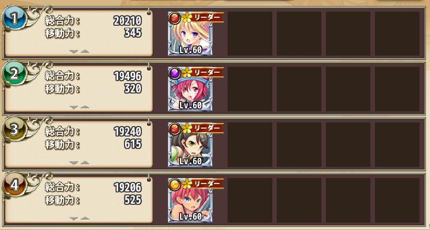 銀(☆4)の総合力 フラワーナイトガール