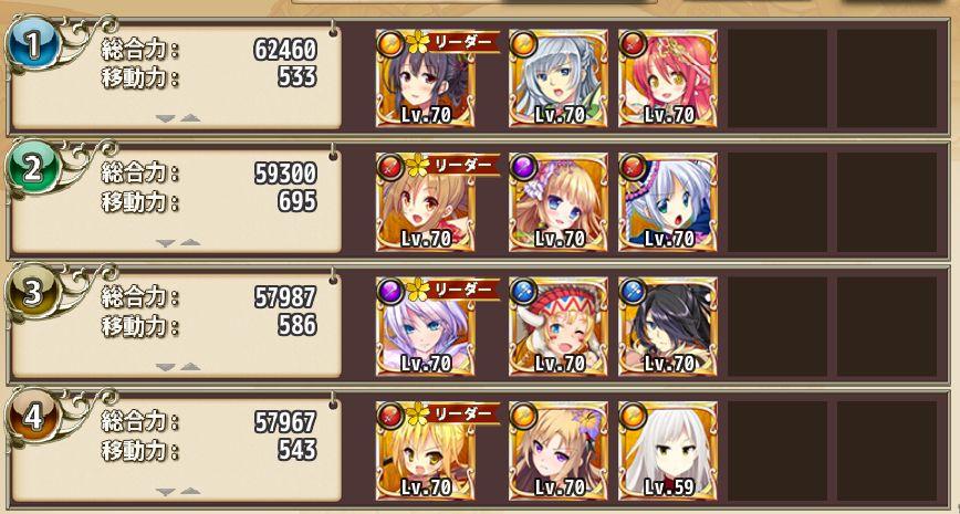 金(☆5)の総合力 フラワーナイトガール