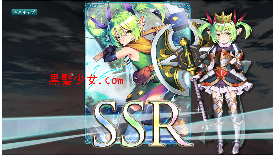 SSRが2連続で出た!ガチャ確率はぬるい?X-Overdクロスオーバード 戦姫 [スフレ]&レンジャー [ルーネ]