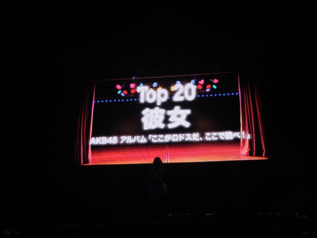 宮脇咲良ソロ彼女20位の感想 AKB48リクアワ2016 (11)