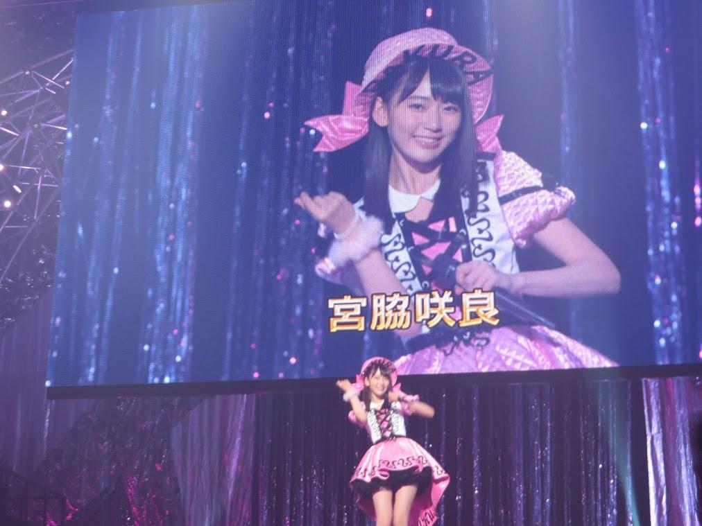 宮脇咲良ソロ彼女20位の感想 AKB48リクアワ2016 (13)