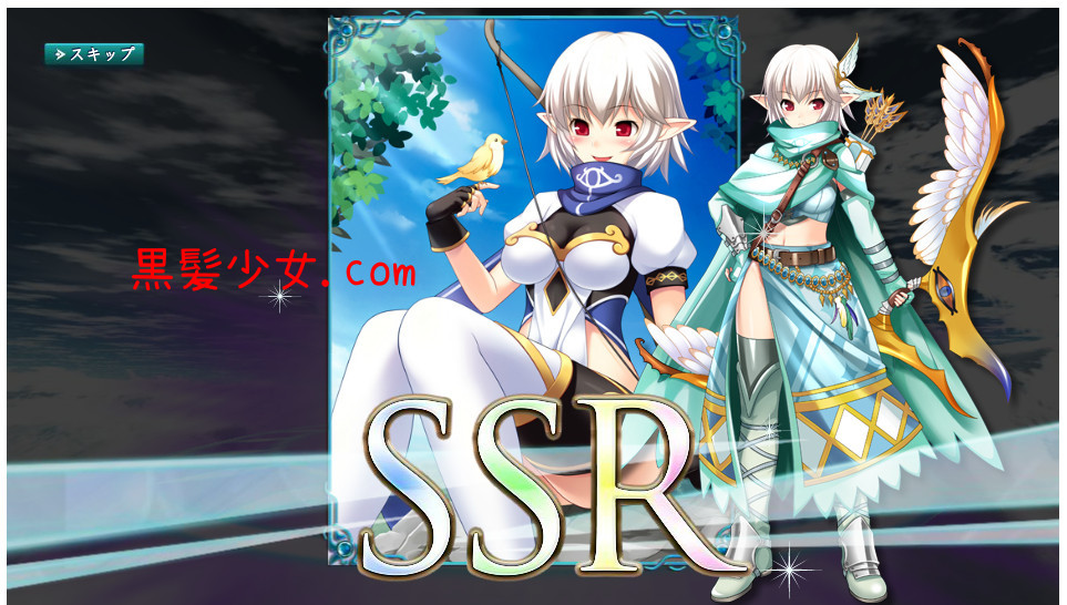 SSRが2連続で出た!ガチャ確率はぬるい?X-Overdクロスオーバード 戦姫 [スフレ]&レンジャー [ルーネ] (1)