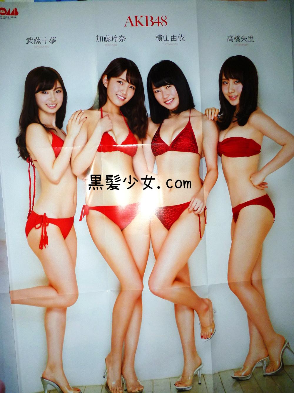 [感想] 加藤玲奈の表紙が良い BOMB2016年4月号 AKB48水着グラビア掲載 (3)