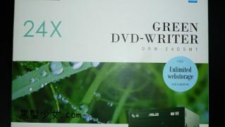 ASUSの省電力DVDドライブを買う 「DRW-24D5MT」
