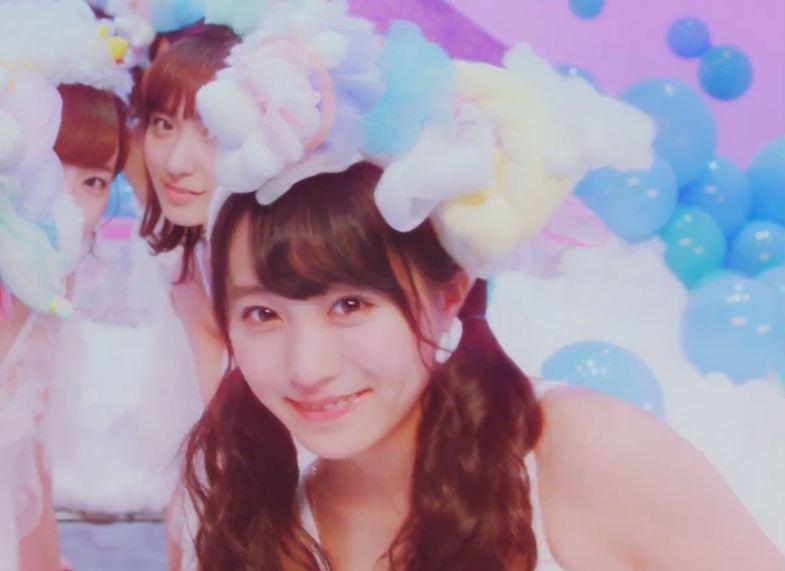 天使だ(確信) 坂口渚沙MV「恋をすると馬鹿を見るAKB48チームB」 (7)