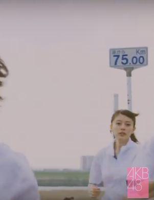 坂口渚沙のカワイイMV「夢へのルート」を発見してしまう [AKB48チーム8]  (2)