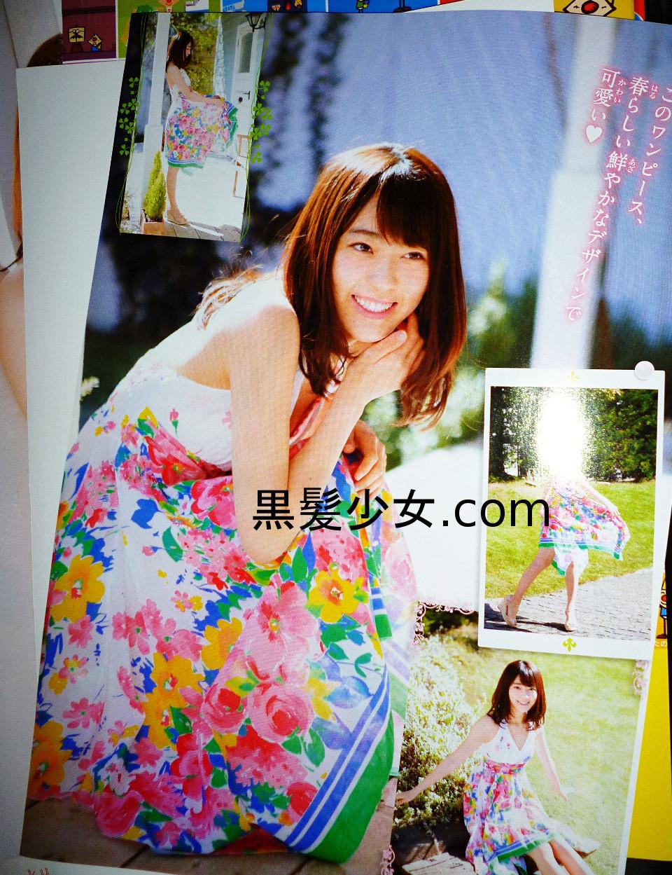 宮脇咲良の週刊少年チャンピオンを買う 表紙&水着ポスター 2016年No.21 (4)