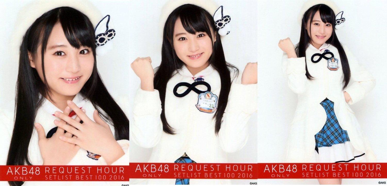 【坂口渚沙】 公式生写真 AKB48 単独リクエストアワー 2016 DVD封入特典 3枚コンプ