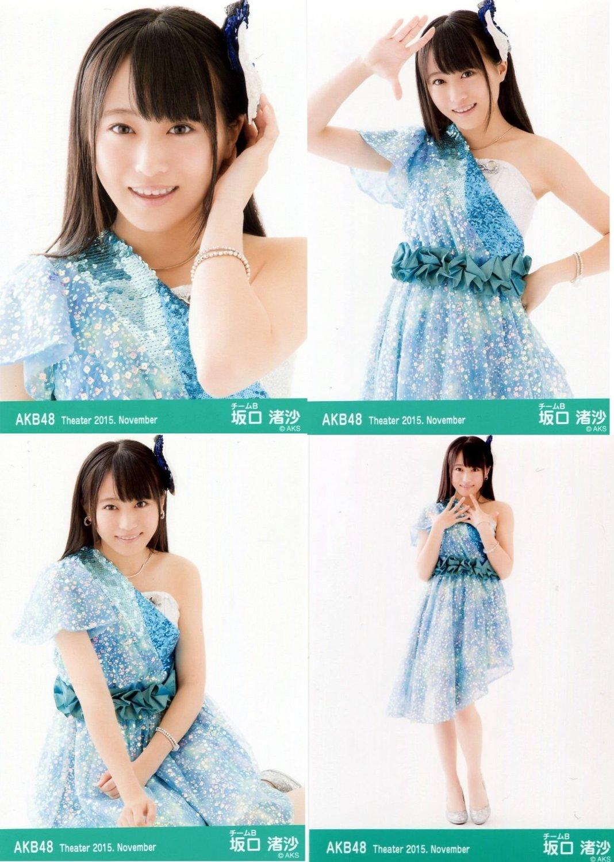 AKB48 公式生写真 Theater 2015.November 月別11月 【坂口渚沙】 4枚コンプ