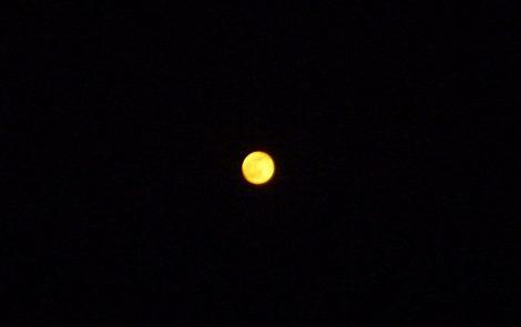 今夜の満月 超綺麗