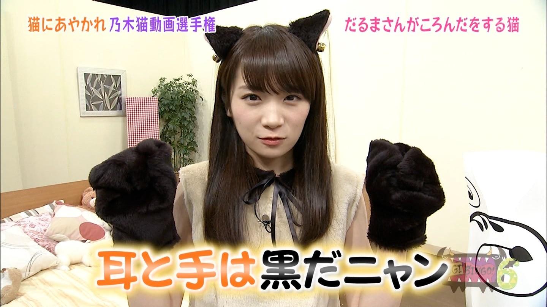 秋元真夏 乃木猫 (3)