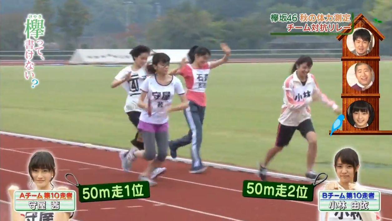 ゆいぽん(小林由依)の体力測定の結果 [欅坂46 欅って、書けない?] (25)