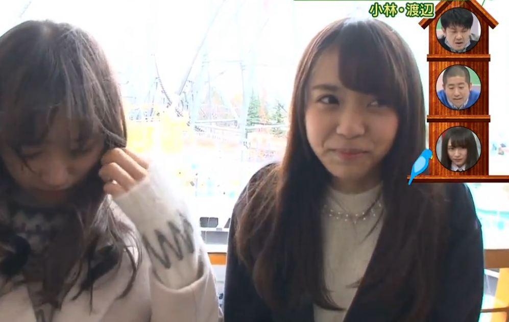 けやかけ#12小林由依シーンまとめ ジェットコースター・リアクションチェック[欅坂46 欅って、書けない?] (1)